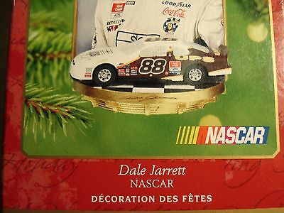 Hallmark Keepsake NASCAR Dale Jarrett Ornament Cake Topper 2001 Racing New