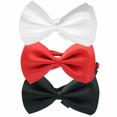 Bow Tie Satin Unisex Wedding Theatre Fancy Dress Party Accessory