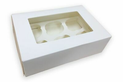 Cupcake Boxes for 4, 6 and 12 hole, Cup Cakes With Removable Trays