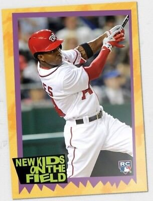 2018 Topps TBT #54 Victor Robles (1989 New Kids on the Block Design)