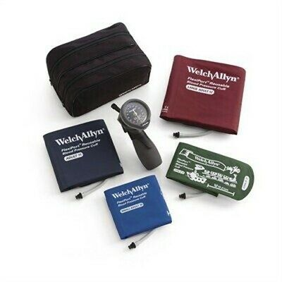 Welch Allyn TR-1 Hand Aneroid Family Practice Blood Pressure Kit (Model 5098-30)