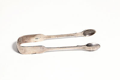 Old Sterling Silver Hallmarked Sugar Ice Tongs George Adams Chawner & Co 1878