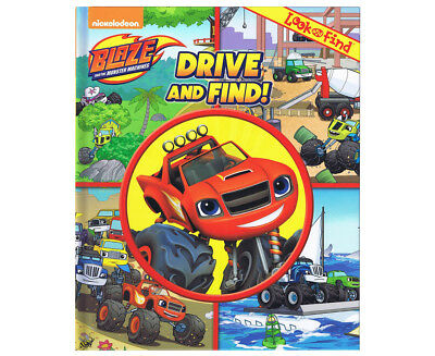Blaze And The Monster Machines Drive & Find Look and Find Book
