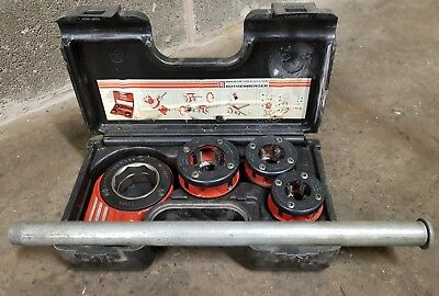 Rothenberger Pipe Threader / Cutter Kit