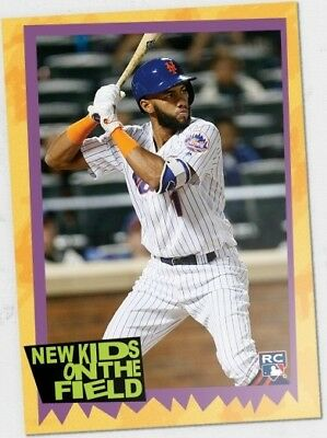 2018 Topps TBT #51 Amed Rosario (1989 New Kids on the Block Design)