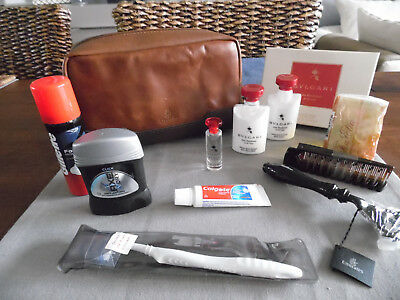 EMIRATES First Class BVLGARI Amenity Kit Washbag Trousse Neceser Kulturbeutel