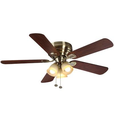 Hampton Bay Fairfield 52 in. Antique Brass Ceiling Fan Replacement PARTS 741044