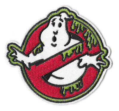 GHOSTBUSTERS SLIME Iron on / Sew on Patch Embroidered Badge Cartoon Ghost PT114