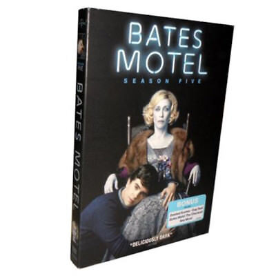 Bates Motel Season 5(DVD, 2017,3-Disc Set) Collection Sealed Brand New