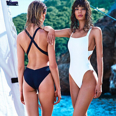 Women One-Piece Swimsuit Swimwear Backless Monokini Bikini Bathing Beach