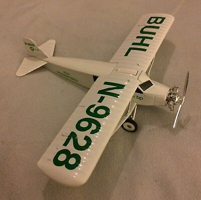 ERTL COLLECTIBLES:  1929 BUHL WHIRLWIND 300hp, DIECAST AIRPLANE BANK Air BP