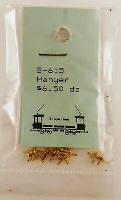 O'Toole Lines B-615 Hangers Pack of 1 Dozen NOS Scale Unknown