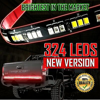 "Stop-Alert Most Powerful Multi-Function 60"" Truck Tailgate Light Bar Strip - For"