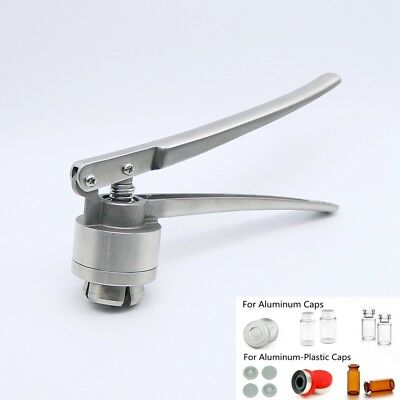 13mm Manual Crimper Hand Sealing Machine for Crimping Flip Caps Vial Seal
