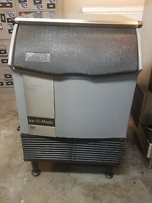 ice o matic ice machine under counter used