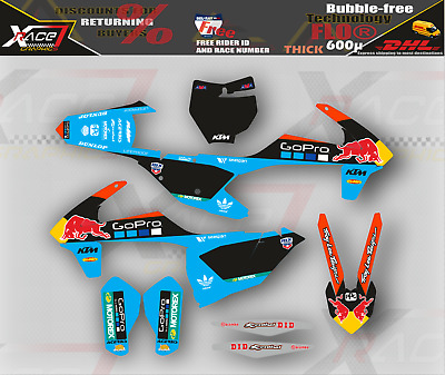 KTM SX SXF2016-2018 aufkleber dekor stickers set graphic kit Motocross EXCF XCW
