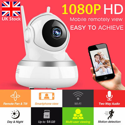 HD Video Audio Baby Monitor Wireless Digital Camera Night Vision Safety Viewer