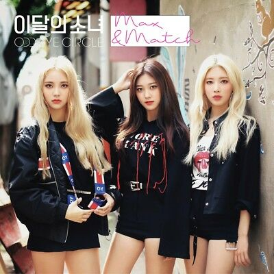 MONTHLY GIRL ODD EYE CIRCLE - MAX & MATCH [Repackage Normal ver.] CD+Photobook