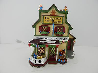 Dept 56 New England Village Christmas Valley Toys & Dolls #56677 New