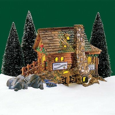 Dept 56 New England Village Semple's Smokehouse #56580 Building Never Displayed