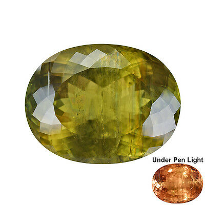 65.00Cts Natural Turkish Diaspore Color Change Collector Gemstone Large Oval