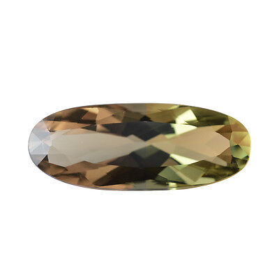 21.96Cts Gia Certified Natural Turkish Diaspore Color Change Oval Gemstone