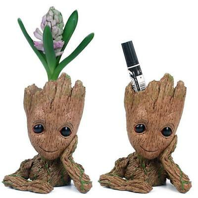 16cm Guardians of The Galaxy Vol.2 Baby Groot Figure Fioriera Stile Pentole Pen