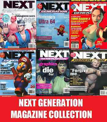 NEXT GENERATION MAGAZINE Complete ON DVD - 85 Issues GAMING MAGAZINES ON DVD