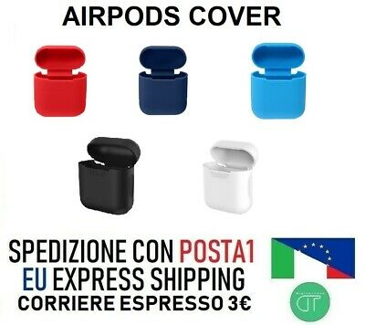 Custodia Cover Airpods Cuffie Apple - Vari Colori