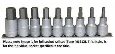 "Teng Tools M120040-C1//2/"" Drive 6 Pt Spark Plug Socket 16 mm-Chrome Vanadium"