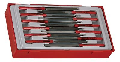 TENG TOOLS TTNF12-05 | Round Needle File (160mm Length) 1x SINGLE FILE