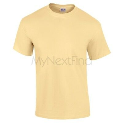 Gildan Mens Womens Ultra 100% Cotton Plain Blank Tee T-Shirt