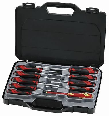 TENG TOOLS MD910N | 10 Piece Screwdriver Set - Slotted, Phillips, Pozi & VDE
