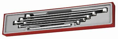 TENG TOOLS TTXFLS06   6 Piece - Long 12pt Double Ring Spanner Set 8-24mm in Tray