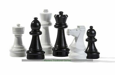 Rolly Mini-Giant Chess Set with Lawn Friendly Chequerboard