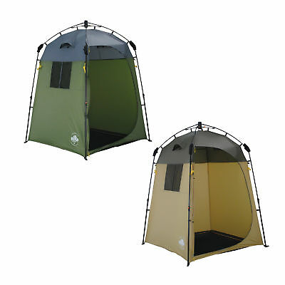 Lumaland Outdoor Pop Up Duschzelt Umkleidezelt Toilettenzelt 155x155x220 cm