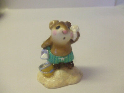 Wee Forest Folk 1991 Annette Petersn 1991 Sea Sounds Mouse At Beach Pre Owned Mi