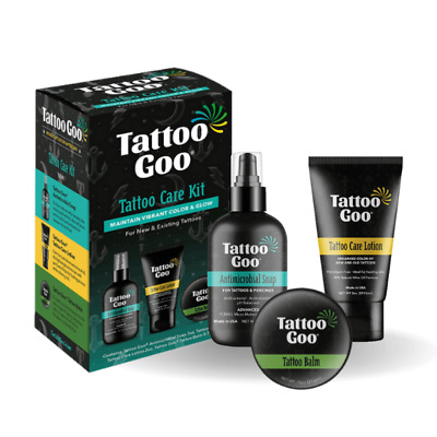 Tattoo Goo Aftercare Range - Goo Lotion Soap - For Healing And Protection