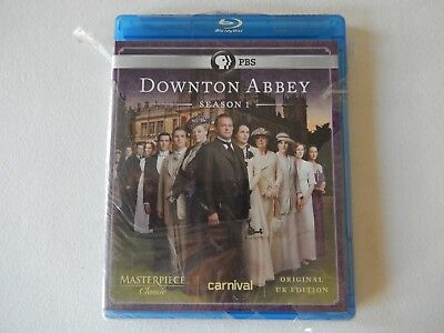 Masterpiece: Downton Abbey - Season 1 (Blu-ray Disc, 2011, 2-Disc Set)