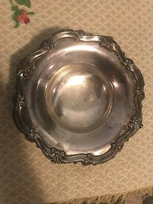 Poole EPCA Bristol Silverplate 136 Tri-Footed Candy Dish Bowl