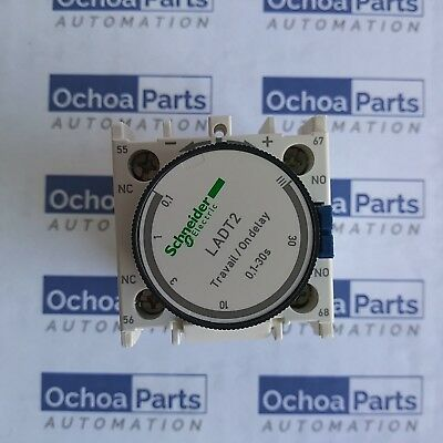 Schneider Ladt2 Time Delay Auxiliary Contact Block 1No + 1Nc