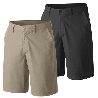 """New Mens Columbia """"Washed Out"""" Chino Cotton Short Omni-Shade Inseam 10"""""""