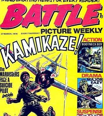 BATTLE PICTURE WEEKLY COLLECTION - Digital Comic Books on DVD Rom