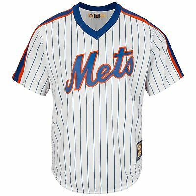 MLB New York Mets Majestic Cooperstown Cool Base Jersey Shirt Mens Fanatics