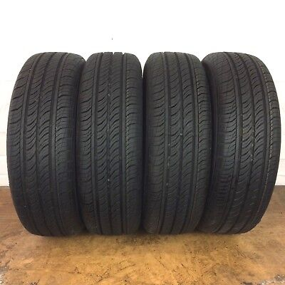 [4] Full Tread Continental ProContact TX 185/65/R15 185 65 15 Tires-Driven Once
