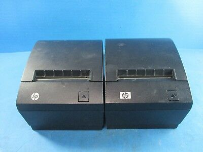 Lot of 2 -  Point of Sale Thermal Printers A799-C40W-HN00 - USED