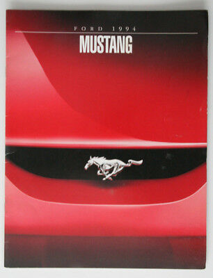 FORD MUSTANG 1994 dealer brochure - French - Canada ST1002000318