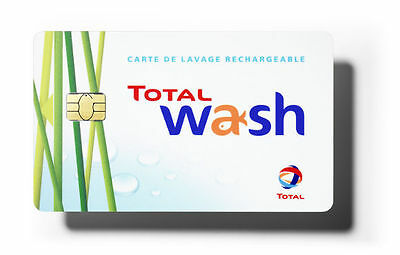 "Carte de lavage ""Total Wash"""