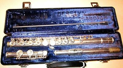 SELMER USA  Flute with Case AS IS