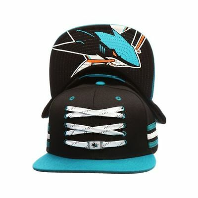 San Jose Sharks Lacer Whistle Snapback